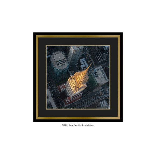 Artko Ltd Chrysler Building Framed Art, Brown