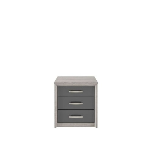 Cara 3 Drawer Wide Chest