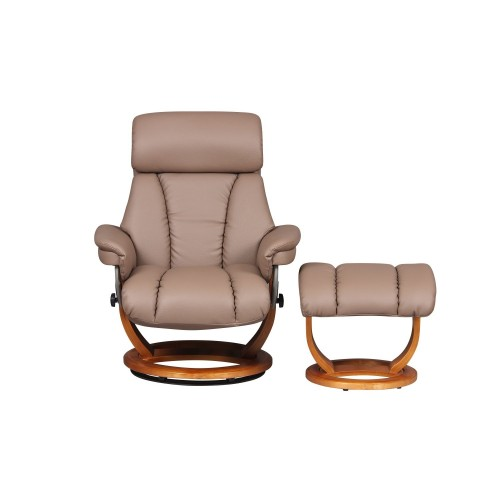 Casa Rapallo Chair & Footstool Ch & St, Earth