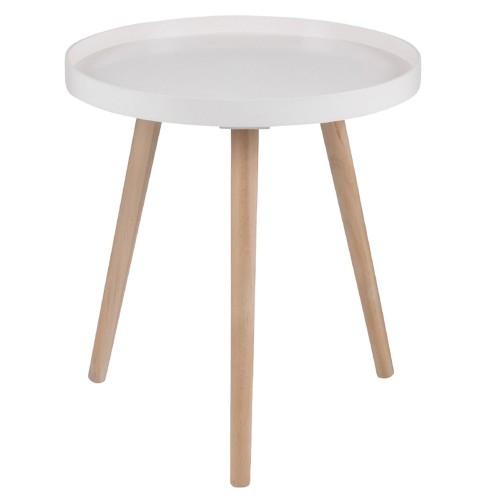 Casa Halston Round Table Large Onesize, Blush