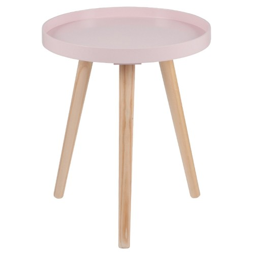 Casa Halston Round Table Small Onesize, Pink