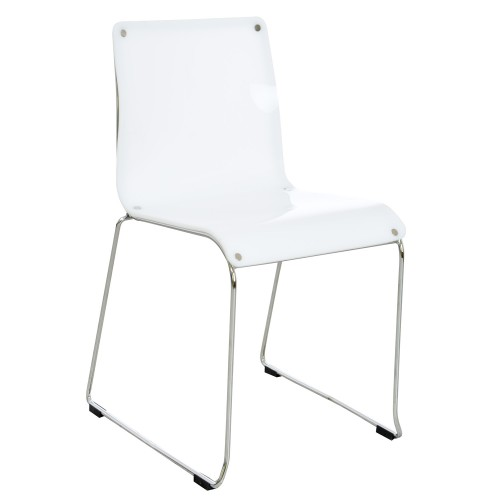 Casa Eyre Chair - Ivory D Chair, Ivory (solid)