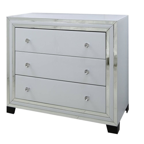 Casa Blanco 3 Drawer Wide Chest