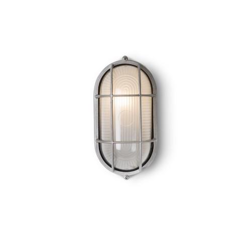 Garden Trading Chatham Bulk Head Light, Aluminium