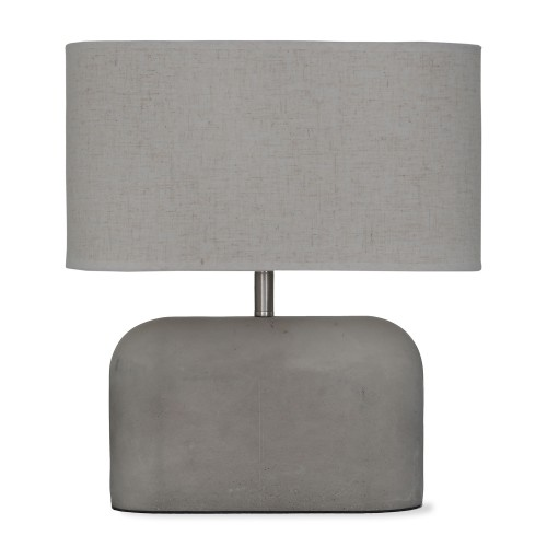 Garden Trading Millbank Slab Table Lamp, Polymer Concrete