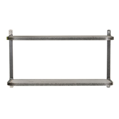 Garden Trading Farringdon Double Shelf, Steel