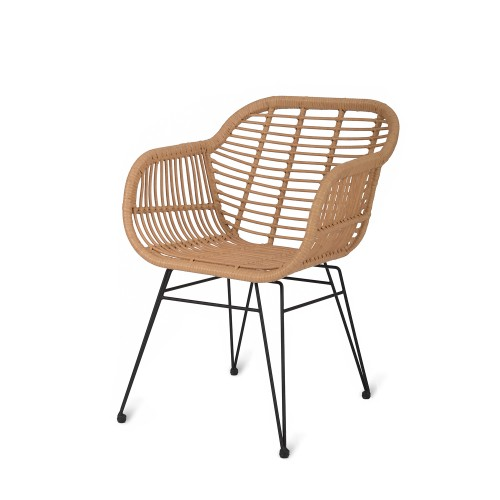 Garden Trading Set Of 2 Hampstead Chairs, Bamboo