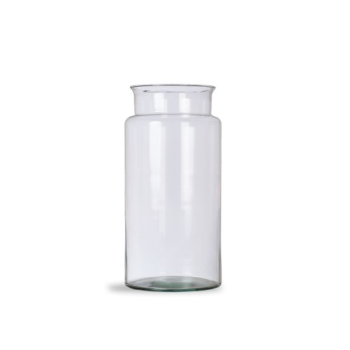 Garden Trading Tall Broadwell Vase, Recycled Glass