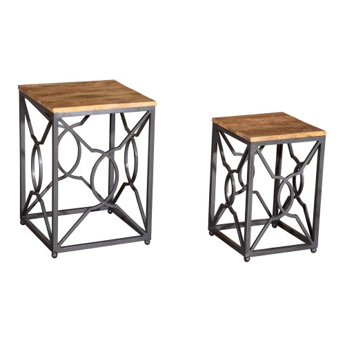 Casa Tangier Nest Of 2 Lamp Tables