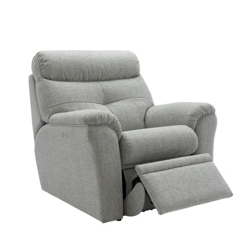 G Plan Upholstery Newton Power Chair Chair, Athena Mist