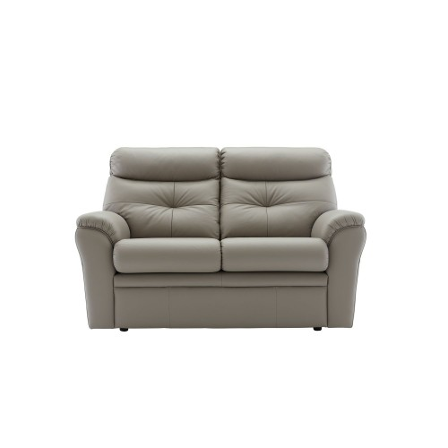 G Plan Upholstery Newton 2 Seater Man Dbl Action 2 Seat, Oxford Mushroom
