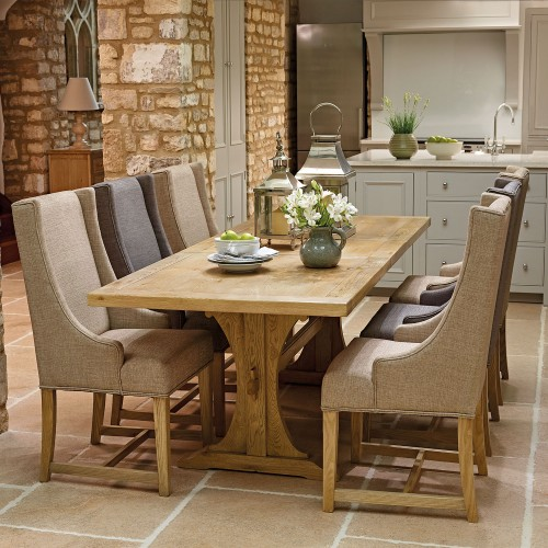 Old Charm Lichfield Ext Table & 6 Chairs