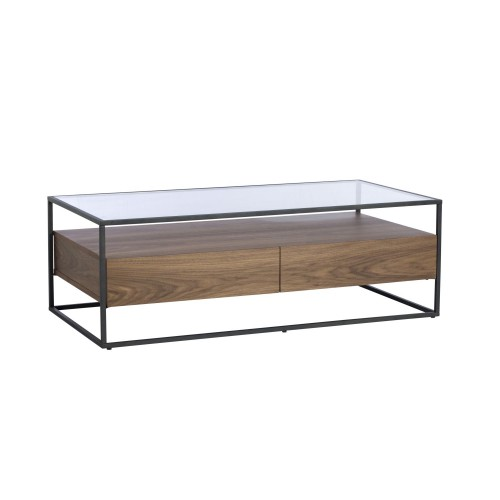Casa Paxton Coffee Table Coffeetabl, Black/oak