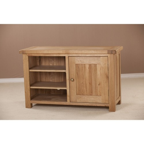 Casa Seville Standard Video Cabinet Tv Unit, Solid Oak