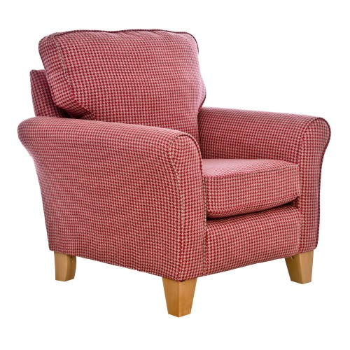 Alstons Lancaster Accent Chair Chair, Co-ordinate 7061