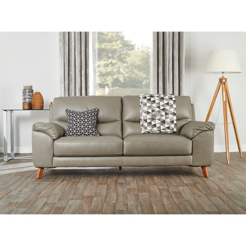 Casa Eve 3 Seater Leather Sofa