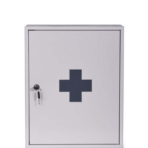 Garden Trading First Aid Wall Cabinet, Chalk