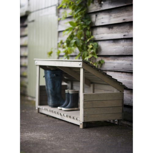 Garden Trading Wooden Welly Store, Spruce