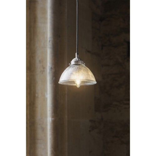 Garden Trading Petit Paris Pendant, Satin Nickel