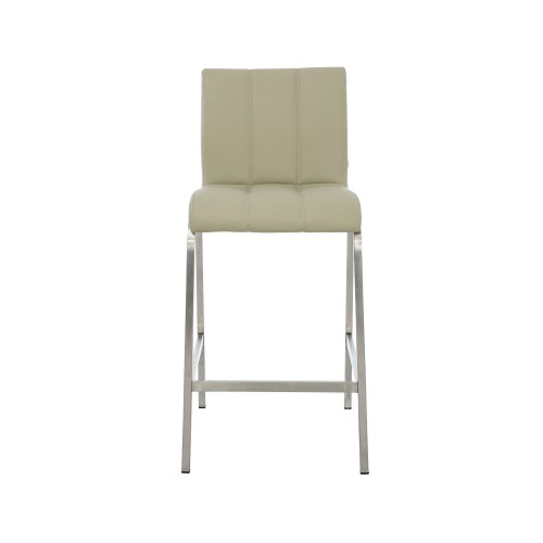 Casa Leo Bar Stool - Grey Stool, Grey