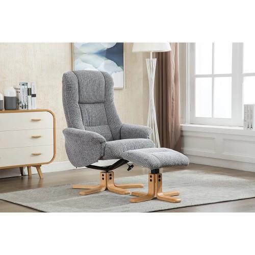 Casa Sinatra Chair & Footstool