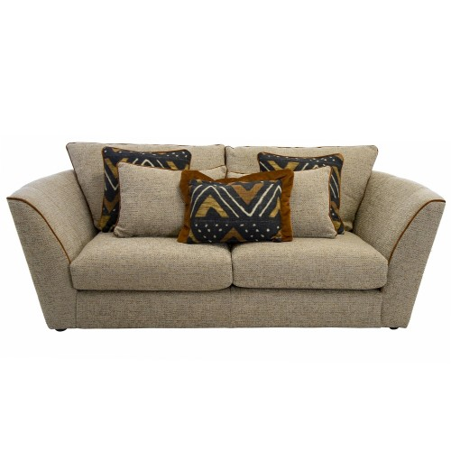 Casa Marlow 2 Seater Trad Back Fabric Sofa
