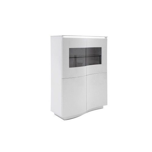 Casa Flamenco Display Unit, White Gloss