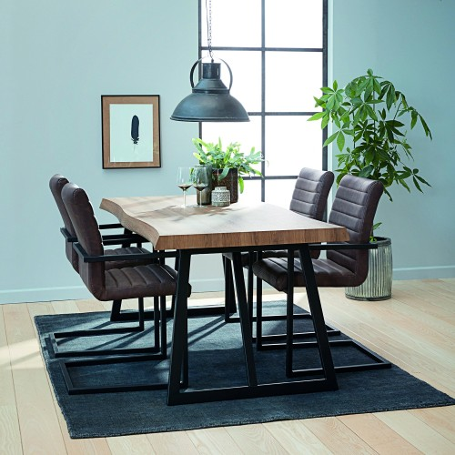 Casa Melbourne Table & 4 Chairs Dining Set