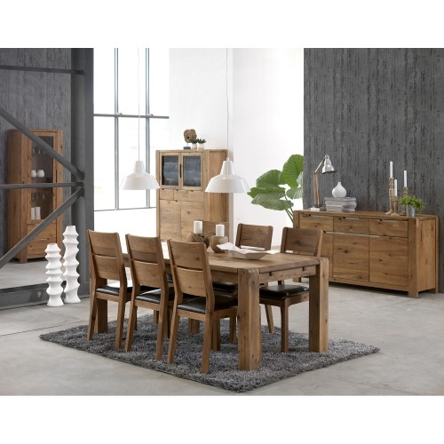 Casa Canberra Table & 4 Chairs Dining Set