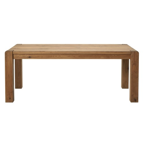 Casa Canberra Dining Table, 190cm, Wild Oak