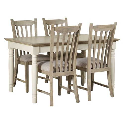 Lilly Extending Table and 4 Chairs