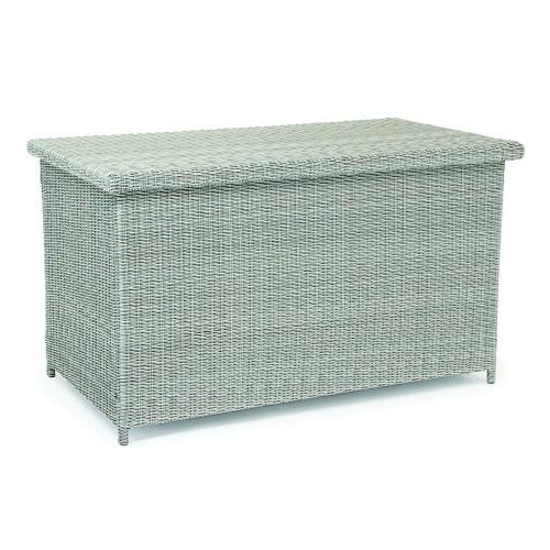 Kettler Palma Garden Cushion Box, Whitewash
