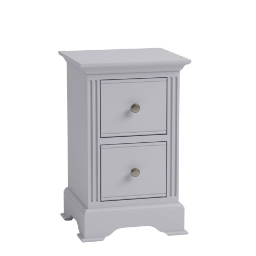 Casa Dover Bedside, Small, Grey