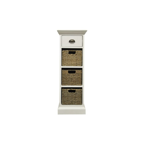 Casa Winslow 1 Drawer 3 Basket Unit, Rattan