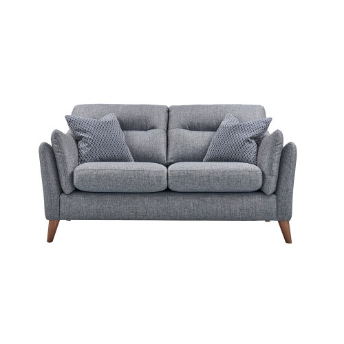 Casa Marley 2 Seater Fabric Sofa, Alturmura Blue/grey