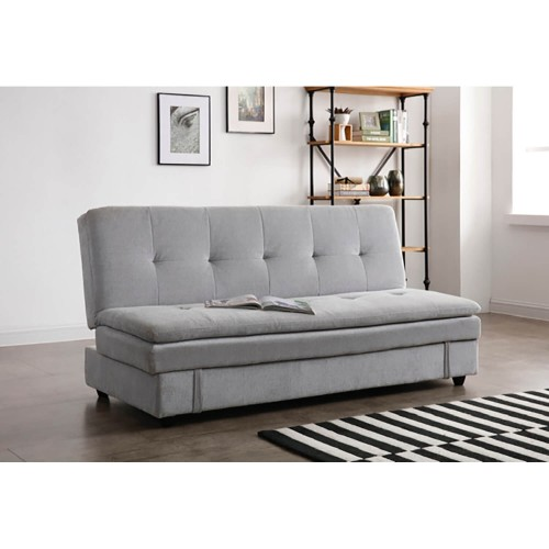 Kyoto Futons Ltd Ollie Sofabed With Storage Bed Sofa, Misty