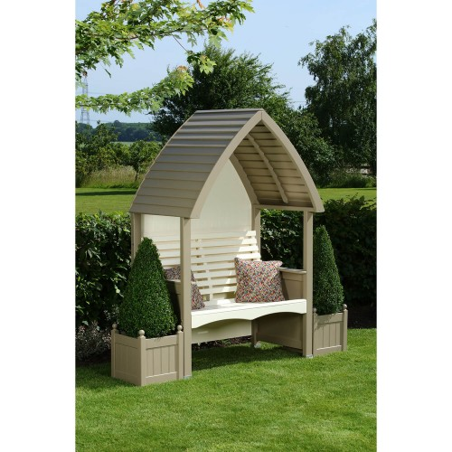 AFK Cottage Arbour Nutmeg/cream, Nutmeg& Cream