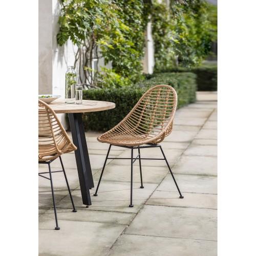 Garden Trading Pair Of Hampstead Scoop Chair