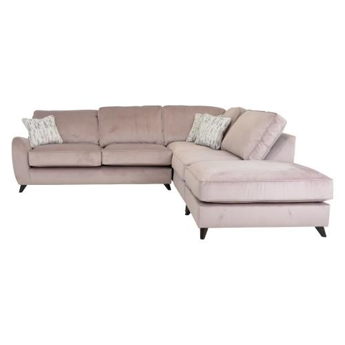 Casa Rosie Corner Fabric Chaise