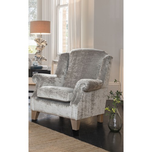 Alstons Lowry Armchair Chair, Small Scatter In 9717