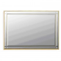 "Westminister 36 x 24"" Mirror Gold"