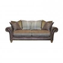 Alexander & James Hudson Three Seater Fabric Sofa