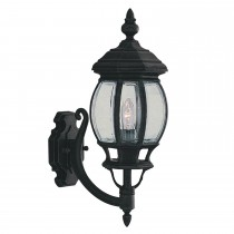 Outdoor Wall Light, Black