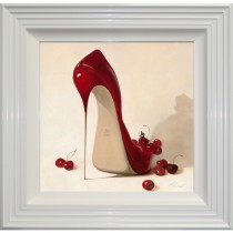 Complete Colour Cherry Love Framed Art