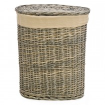 Casa Grey Willow Large Laundry Basket