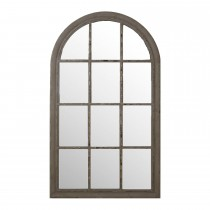 Casa Arch Window Mirror, Grey OUT OF STOCK TILL END OF FEB 2015