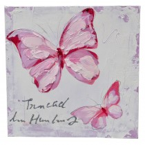 Casa Red Butterflies 30x30cm