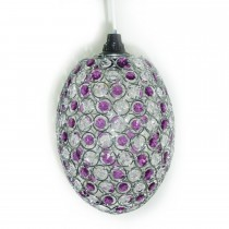 Casa Bailey Non Electric Pendant, Silver