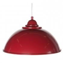 Casa Hendrick Electrified Pendant, Red