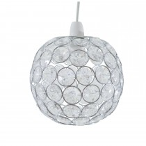Casa Ball Non Electric Pendant, Chrome